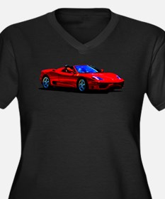Red Ferrari - Exotic Car Plus Size T-Shirt