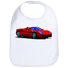 Red Ferrari - Exotic Car Bib