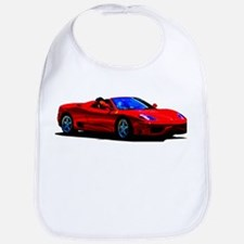 Red Ferrari - Exotic Car Bib