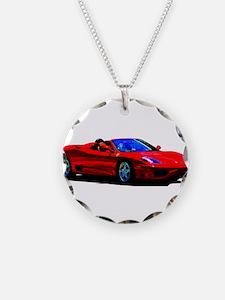 Red Ferrari - Exotic Car Necklace