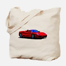 Red Ferrari - Exotic Car Tote Bag