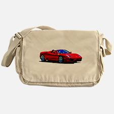 Red Ferrari - Exotic Car Messenger Bag
