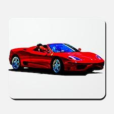 Red Ferrari - Exotic Car Mousepad