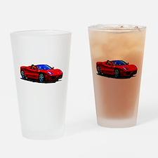 Red Ferrari - Exotic Car Drinking Glass