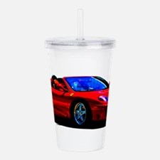 Red Ferrari - Exotic C Acrylic Double-wall Tumbler