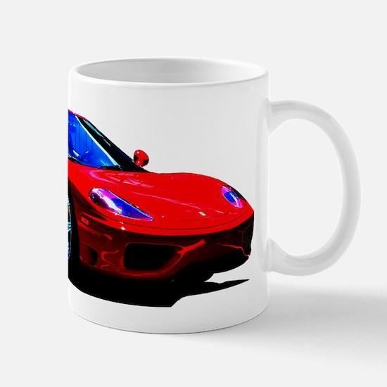 Red Ferrari - Exotic Car Mugs