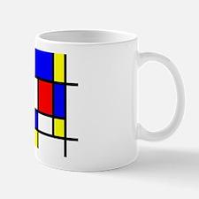 Mondrian-5a Mug Mugs