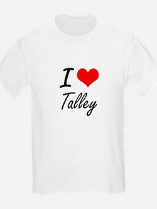 I Love Talley artistic design T-Shirt