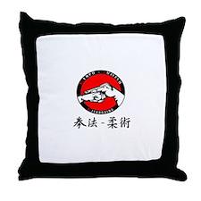 Kenpo Jujitsu Throw Pillow