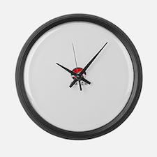 Kenpo Jujitsu Large Wall Clock