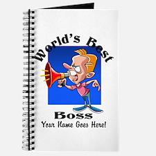 Worlds Best Boss Journal