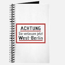 Sie verlassen jetzt West-Berlin Journal