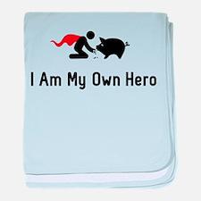 Pigs Hero baby blanket