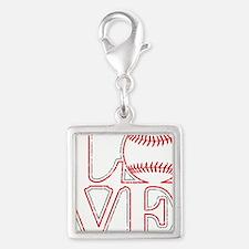 Love Baseball Classic Charms