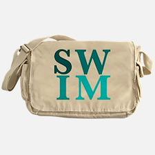 Cute Breaststroke Messenger Bag