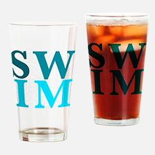 Cute Breaststroke Drinking Glass