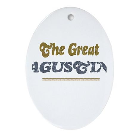 Agustin Oval Ornament