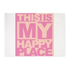 Happy Place 5'x7'Area Rug
