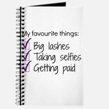 Favourite Things Makeup Journal