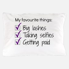 Favourite Things Makeup Pillow Case