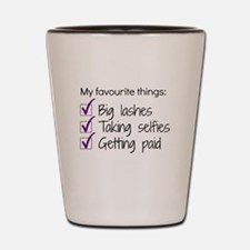 Favourite Things Makeup Shot Glass