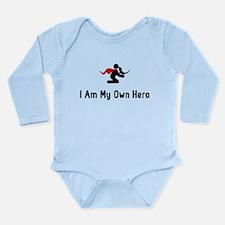 Iguana Hero Long Sleeve Infant Bodysuit