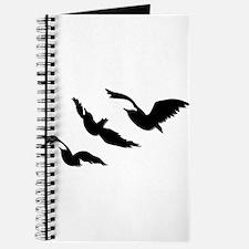 divergent bird blk bevel Journal