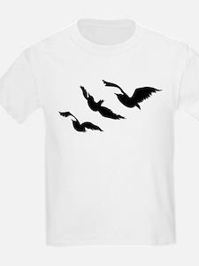divergent bird blk bevel T-Shirt