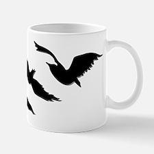 divergent bird blk bevel Mugs