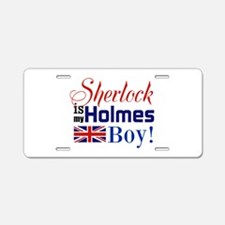 My Holmes Boy Aluminum License Plate