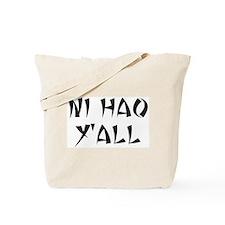 NI HAO Y'ALL Tote Bag