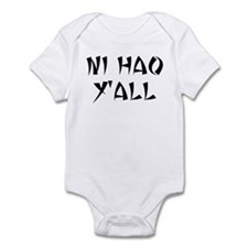 NI HAO Y'ALL Infant Bodysuit