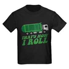 Cool Garbage truck kids T