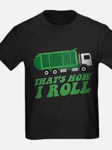 Unique Kids garbage truck T