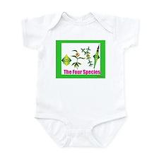 The Four Species Sukkot Infant Bodysuit