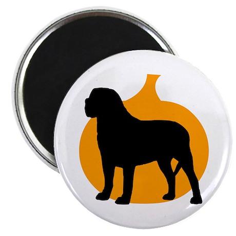 Mastiff Halloween Magnet