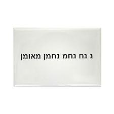Nachman Slogan Rectangle Magnet (10 pack)