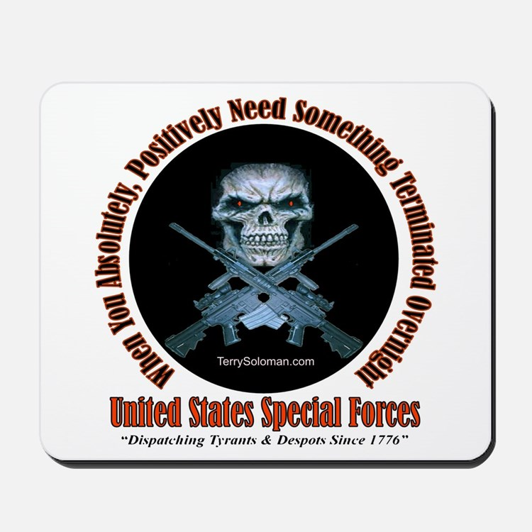 Military Special Forces Mousepad