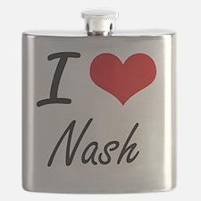 Cute I love steve nash Flask