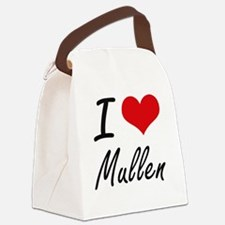 Cute Mullen family Canvas Lunch Bag