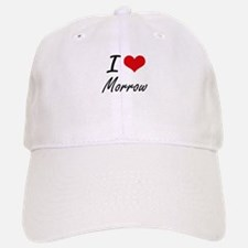 I Love Morrow artistic design Baseball Baseball Cap