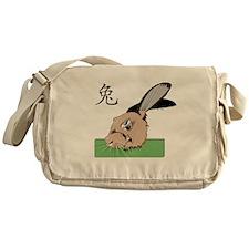 The Rabbit Messenger Bag