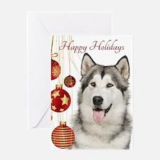 Husky Holiday Greeting Cards