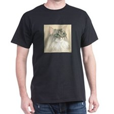 Norwegian Forest Cat Painting T-Shirt