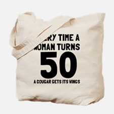 A cougar gets its wings Tote Bag