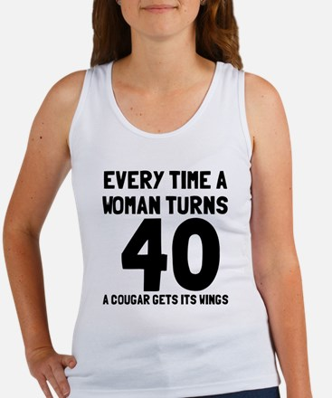 A cougar gets its wings Women's Tank Top