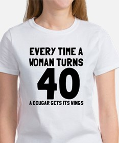 A cougar gets its wings Women's T-Shirt