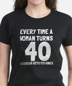 A cougar gets its wings Tee