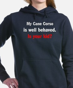 Cool Dog park Women's Hooded Sweatshirt
