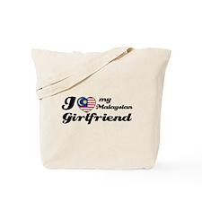 I love my Malaysian Girlfriend Tote Bag
